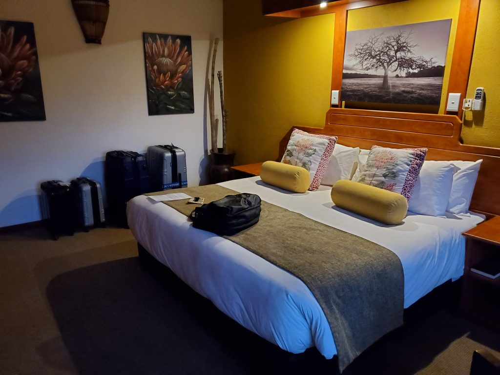 Interior of our rooms.