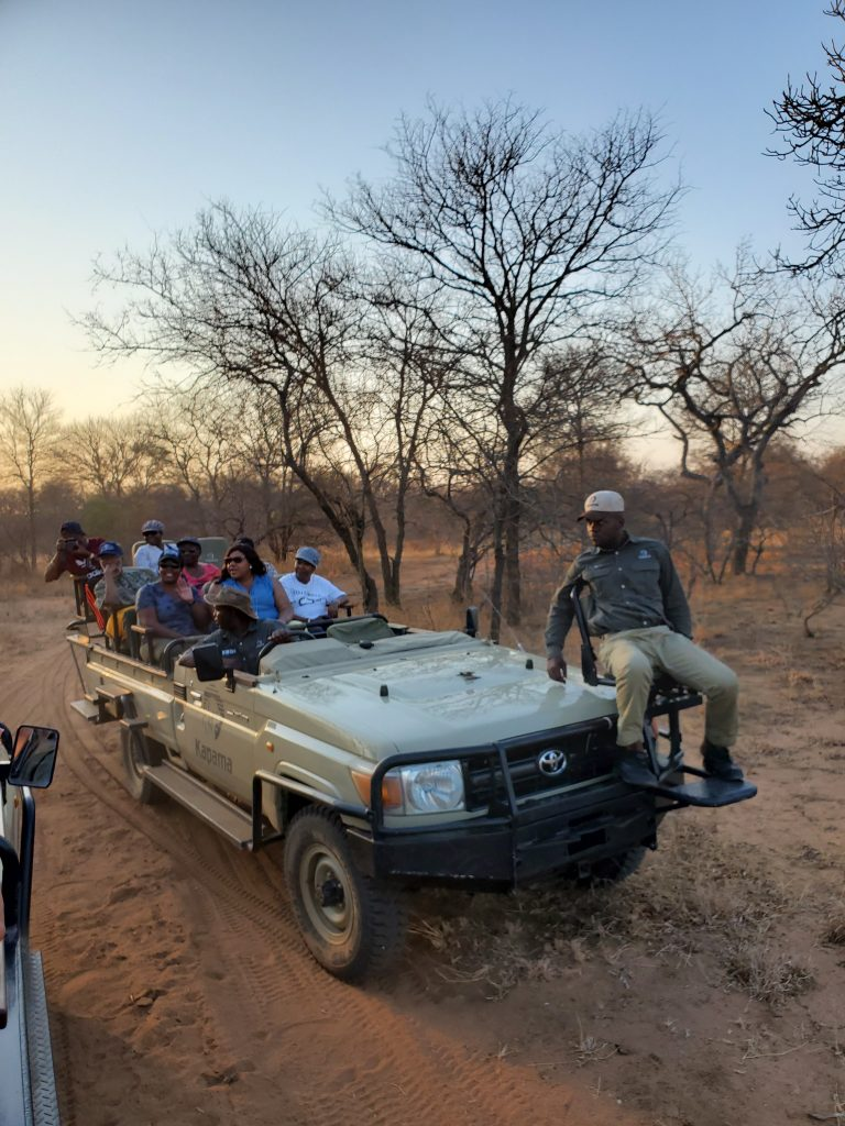As the sunsets, we prepare for a Night Safari with very different experience.