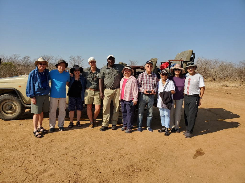 Our group with the ranger and spotter.