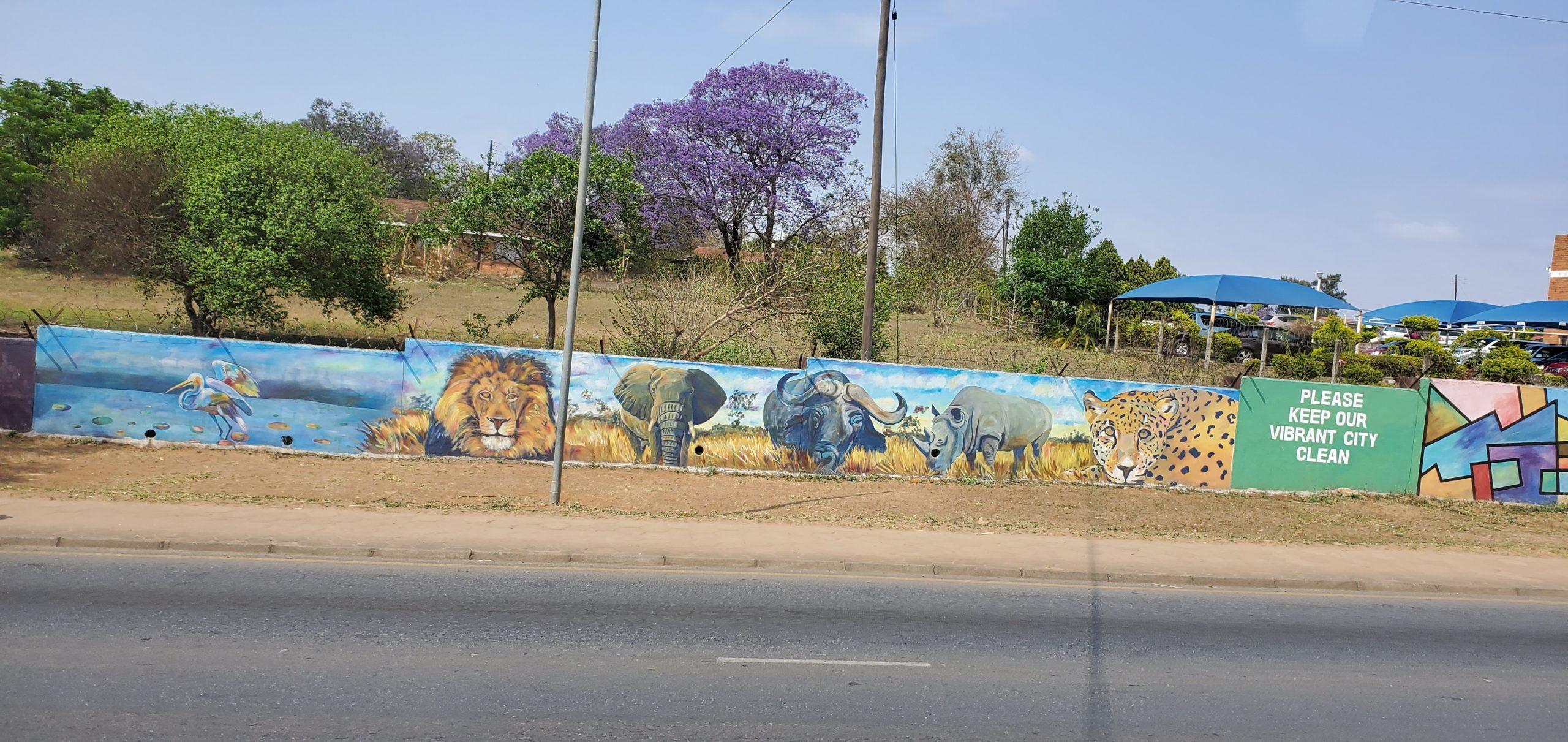 Mural of Big Five