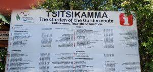 Tsitsikamma National Park signage