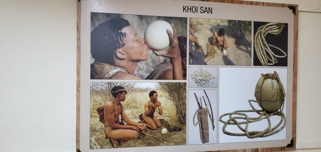 Khoi San (is a catch-all term for the
