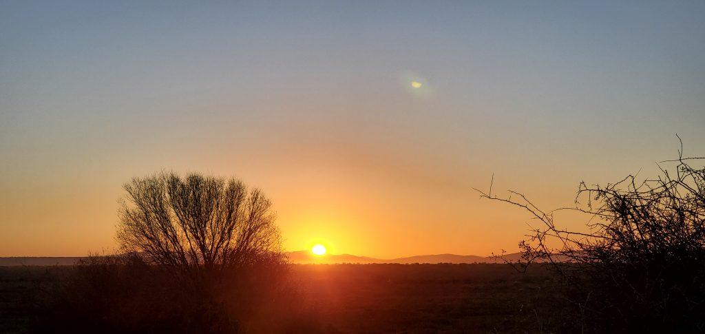 The Sunrise in splendor