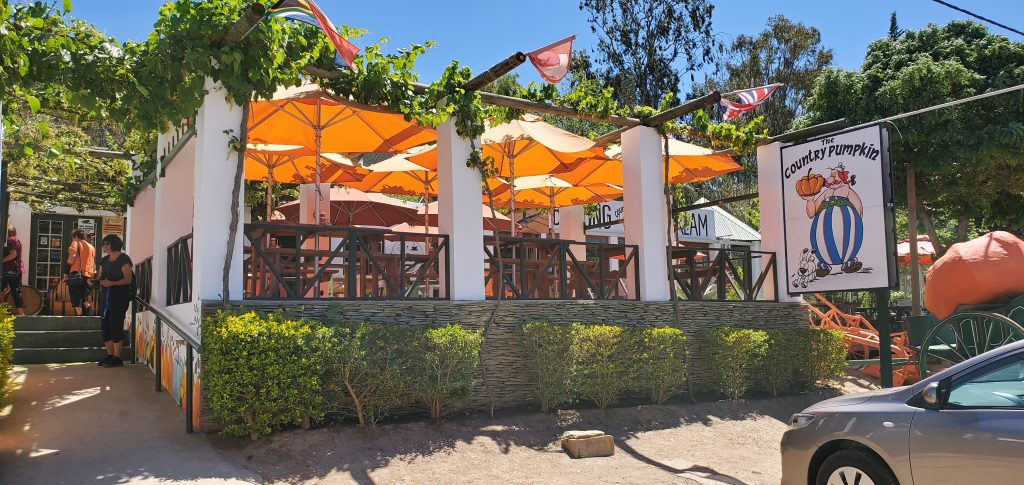 The Country Pumpkin Restaurant and Farm shop at Barrydale Route 62