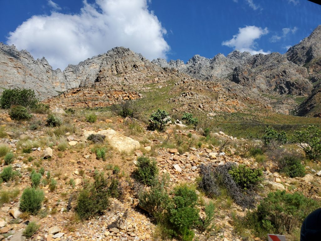 Barrydale, a great place for hiking and mountain climbing