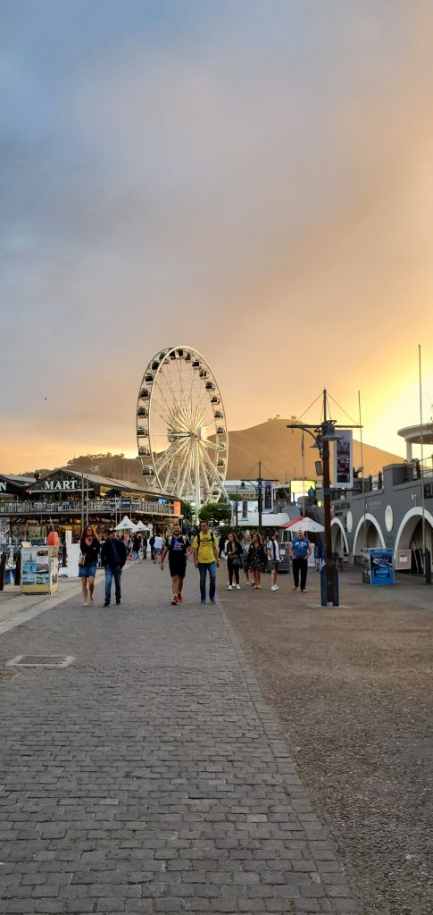 The Cape Wheel is a giant observation wheel that offers a spectacular 360-degree panoramic view of Cape Town, and the surrounding area from the vibrant V&A Waterfront precinct.