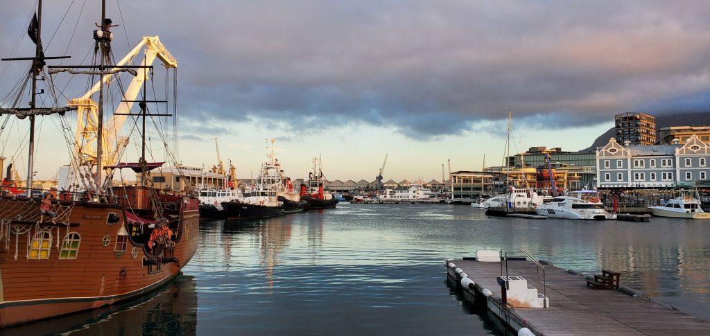 Beautiful sight of the Wharf