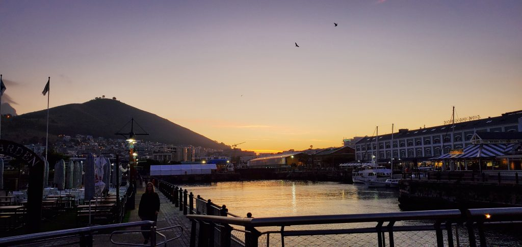 The Beautiful Colors of the Sky @ the V&A Wharf