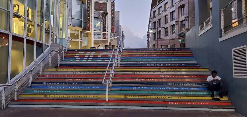 The Colorful Staircase