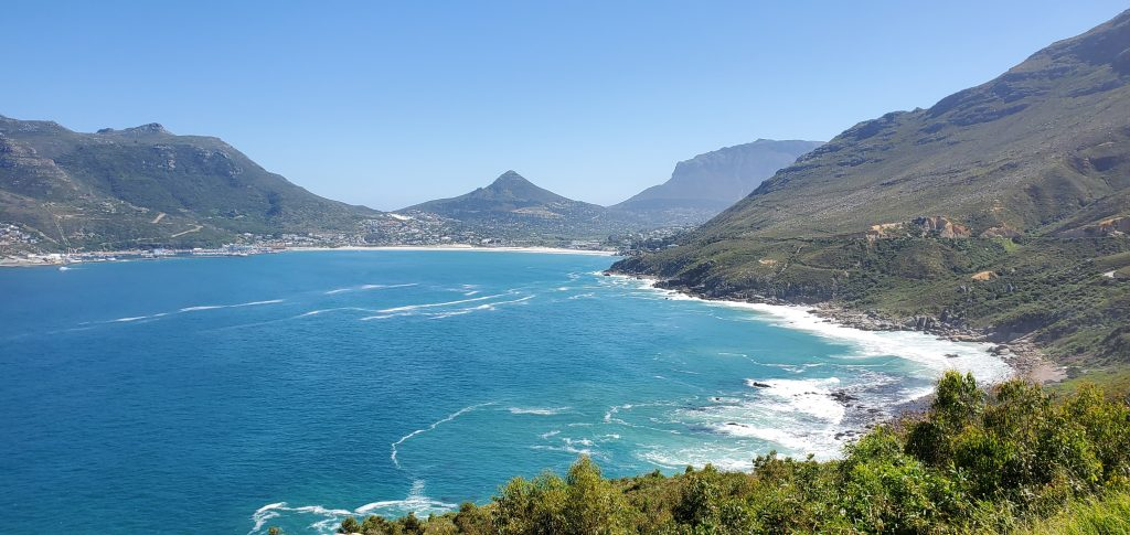 The view from Chapman's Peak is truly stunning
