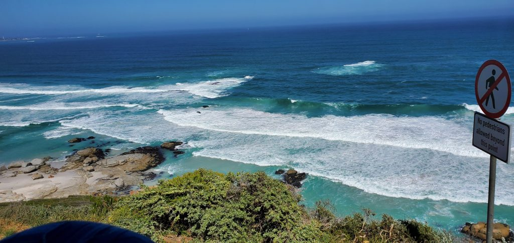 The waves at Noordhoek Beach would be great for surfing