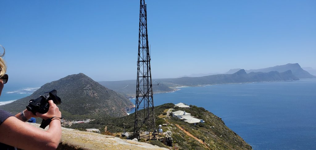 Beautiful lookout from Cape Point