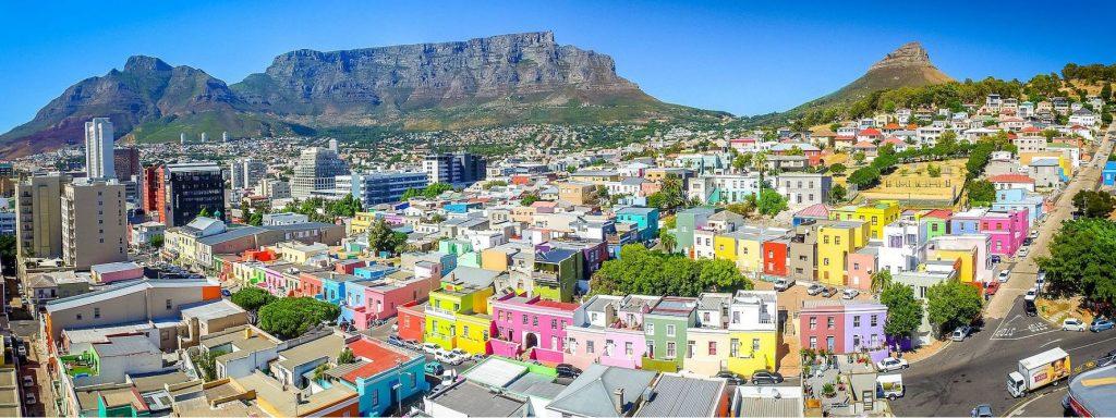 Bo-Kaap Colorful Houses