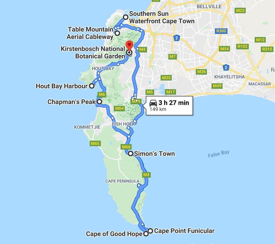 Our Cape Town City Tour