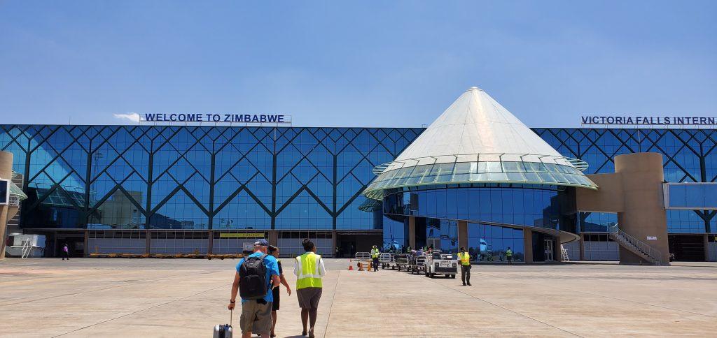 Welcome to Zimbabwe Victoria Falls International Airport.