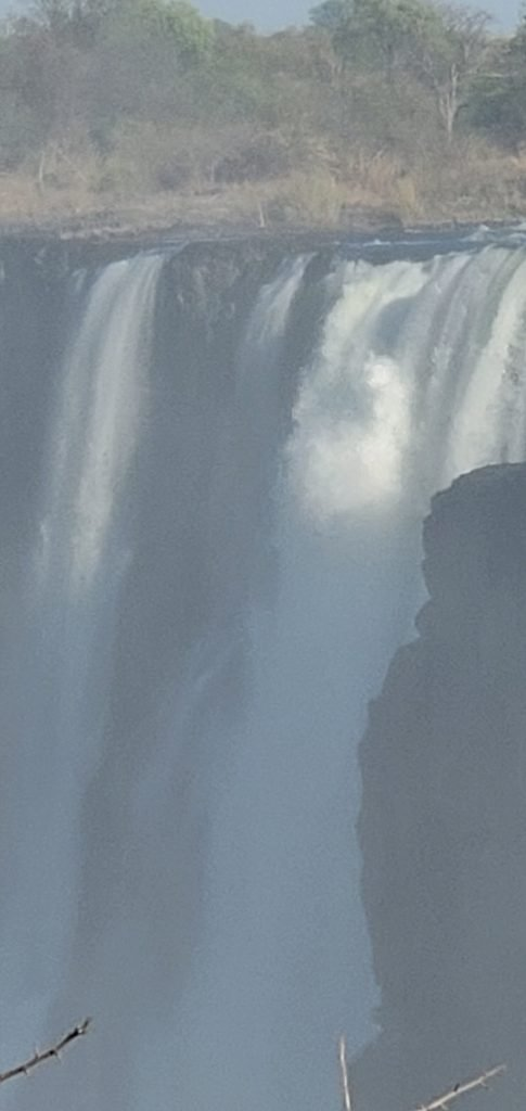 The mighty Victoria Falls.
