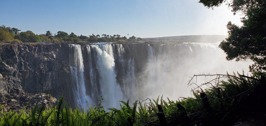 Victoria Falls in its full splendor.