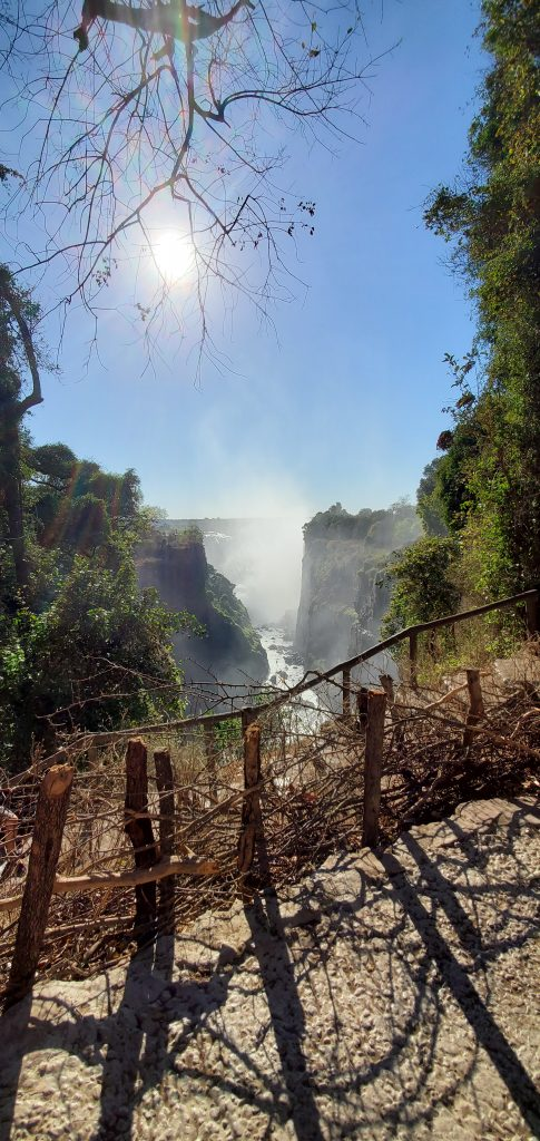 Victoria Falls from another angle.